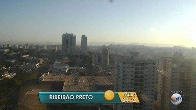 Termômetros devem marcar até 30ºC nesta segunda-feira (28) em Ribeirão Preto - Clima continua seco e não há previsão de chuva até o fim da semana.