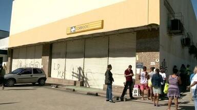 Centro de distribuição dos correios em Itacibá, Cariacica, é arrombado - A perícia concluiu que o cadeado foi arrombado, mas ninguém entrou na agência. O local abriu normalmente nesta segunda (28).