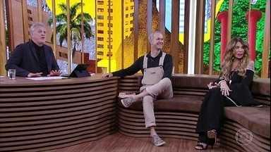 Jotabê Medeiros e Elba Ramalho falam sobre as várias faces de Belchior - Bial mostra entrevista que Marília Gabriela fez com o cantor