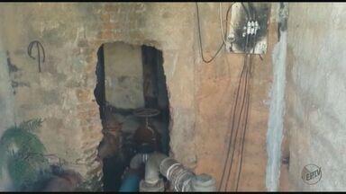 Após furto de fios, moradores de São José do Rio Pardo ficam sem água e energia - Furto ocorreram duas vezes em 10 dias.