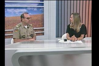 O cmdt geral da BM fala sobre as ações na faixa de fronteira - Santa Rosa, RS, é sede de um evento que mobiliza polícias do Brasil e exterior.