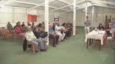 Reuniões discutem novo Plano Diretor de Santos - Primeira conversa ocorreu com moradores dos morros.