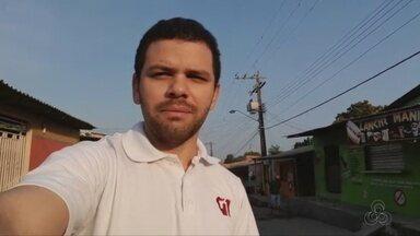 Jovem é morto enquanto jogava videogame em lanchonete na Zona Leste de Manaus - Homem armado surpreendeu vítima e atirou duas vezes na cabeça de jovem.