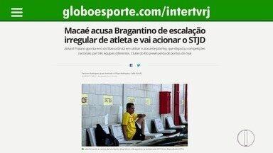 Macaé acusa Bragantino de escalação irregular de atleta e vai acionar o STJD - Alvianil Praiano aponta erro do Massa Bruta em utilizar o atacante Jobinho, que disputou competições nacionais por três equipes diferentes. Clube do Rio prevê perda de pontos do rival.