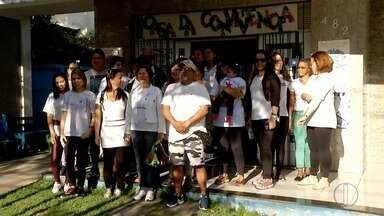 Macaé, RJ, recebe caminhada para celebrar Dia Nacional de Combate ao Fumo - Evento foi realizado nesta terça-feira (29).