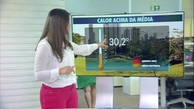 Veja previsão do tempo para quarta-feira (30) em MS - Veja previsão do tempo para quarta-feira (30) em MS.