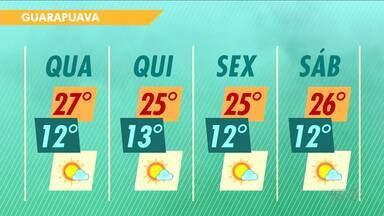 Sol deve brilhar até o fim de semana na região - Em algumas cidades a temperatura máxima deve ultrapassar os 30 graus.