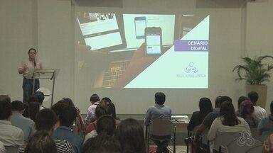 Especialista em conteúdo para web da Rede Globo visita Manaus - Especialista falou sobre empreendedorismo no mundo digital.