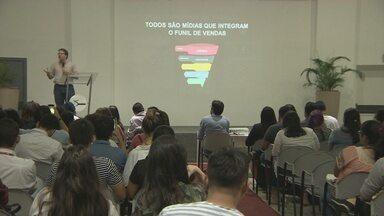 Especialista em conteúdo para internet da Rede Globo faz palestra em Manaus - Evento ocorreu no Studio 5