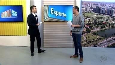 Confira as notícias do esporte desta quarta (30/08) - Programa destaca a goleada de Itaporanga contra a seleção de Areia Branca pela Copa TV Sergipe de Futsal.