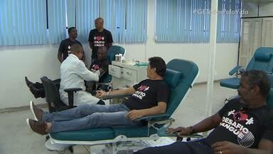 Ídolos da dupla BA-VI participam da campanha #GEtodospelavida - Campanha de cadastro para doação de medula óssea está mobilizando centenas de pessoas na capital baiana.