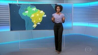Confira como fica o tempo nesta quinta (31) - Veja a previsão do tempo para todo o Brasil no vídeo.