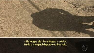 Violência em São Cristóvão assusta população - Nesta quarta-feira (30), morador foi baleado durante tentativa de assalto.