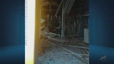 Criminosos explodem agências bancárias em Lambari (MG) - Criminosos explodem agências bancárias em Lambari (MG)