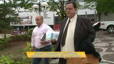 Ex-segurança é julgado por tentar matar juiz - O julgamento é realizado em Umuarama.