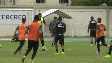 Botafogo volta a treinar depois da folga e aproveita para recuperar jogadores - Botafogo volta a treinar depois da folga e aproveita para recuperar jogadores
