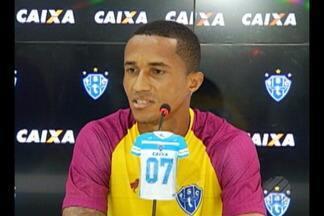 Papão espera encerrar jejum de vitórias em casa - Bicolores seguem preparação para duelo contra o América-MG. Com tempo de sobra, comissão técnica busca recuperar jogadores lesionados.