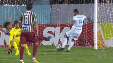 Londrina se impõe diante do Fluminense e se classifica - Tubarão venceu o Flu com autoridade e está na semifinal da Primeira Liga; adversário será o Cruzeiro, neste domingo (3)