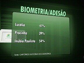 Adesão de eleitores ao cadastramento biométrico é baixa em Junqueirópolis - Quem não cumprir com a obrigação pode ter problemas.