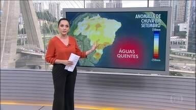 Previsão de menos chuvas na maioria dos estados - Veja a previsão do tempo para todo o Brasil.