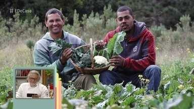 Toque do Ravioli: Chef utiliza em receitas legumes de dois amigos lavradores - Conheça a história de Wilian e Reinaldo