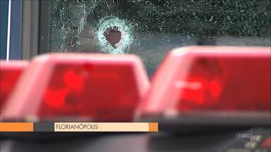 Grande Florianópolis registra dois atentados a sedes da segurança pública - Grande Florianópolis registra dois atentados a sedes da segurança pública