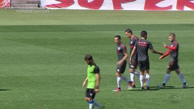 Inter faz teste, Damião marca dois e comanda vitória sobre o Cruzeiro-RS - Colorado superou por 3 a 1 o adversário em jogo-treino.