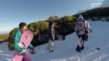 Surfe E Snowboard Na Nova Zelândia