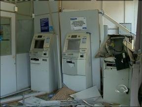 Agência bancária de David Canabarro, RS, é assaltada - Em menos de um mês, três cidades da região foram atacadas
