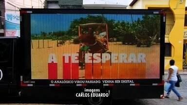 Em Barbalha, a população se prepara para fim das transmissões com sinal analógico - Faltam 23 dias para que o sinal analógico seja desligado em Fortaleza e outras 23 cidades.