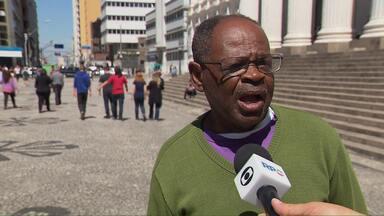 Confira os depoimentos do dia 04 de setembro - Todas as pessoas que foram na Praça Santos Andrade conversaram com o Jasson Goulart
