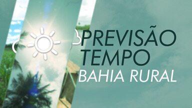 Seca na região norte é destaque na Previsão do Tempo - Confira na Previsão do Bahia Rural.