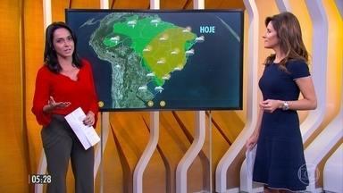 Previsão de mudança no tempo em parte da região Sul e no Centro-Oeste do país - Confira a previsão da meteorologia para a segunda-feira (11) em todo Brasil.