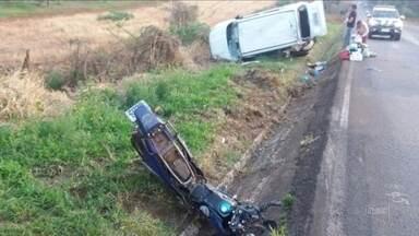 Duas pessoas morrem em acidentes em Videira e Xaxim - Duas pessoas morrem em acidentes em Videira e Xaxim