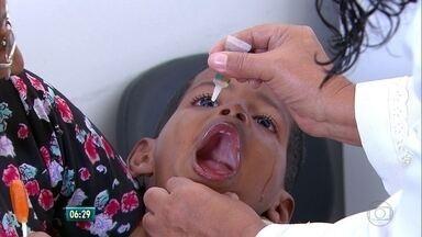Campanha de atualização de vacinas começa nesta segunda, no Recife - Vacinas são essencviais para a imunização das crianças