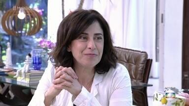 Fernanda Torres comenta parceria com Luiz Fernando Guimarães - Atriz conta também como foi o início da carreira