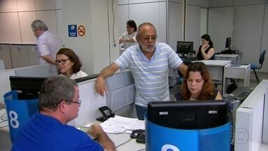 Agência do INSS na Avenida Mário Melo reabre com atendimento restrito - Local só vai receber quem está entrando com pedido de aposentadoria por tempo de serviço.