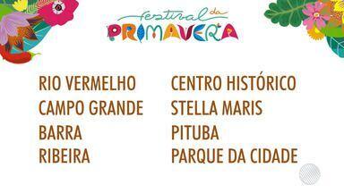 Quinta edição do Festival da Primavera é lançada em Salvador - Confira os detalhes do evento.