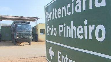 """Exército realiza operação em unidades prisionais de Porto Velho - É segunda fase da operação """"Duplo cerco"""" na penitenciária Ênio Pinheiro e Pandinha."""