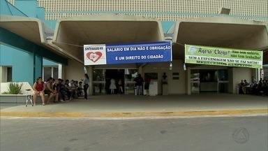 Enfermeiros da Santa Casa de Campo Grande cruzam os braços - Santa Casa afirma que o atraso nos salários dos enfermeiros é porque o hospital não recebeu o repasse mensal de cerca de R$ 20 milhões do poder público.