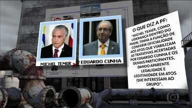 Inquérito sobre núcleo do PMDB na Câmara já está na Procuradoria - Suspeita de organização criminosa envolve Temer e alto escalão do partido.
