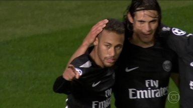 Começa a Liga dos Campeões na Europa - O brasileiro Neymar finalmente estreou nos torneios internacionais pelo Paris Saint-Germain