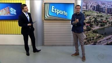 Confira as notícias do esporte desta quarta (13/09) - Thiago Barbosa destaca vitória de Itaporanga sobre Socorro pela terceira rodada da Copa TV Sergipe. Tem a reapresentação do Confiança. O time encara o São Bento no próximo domingo.