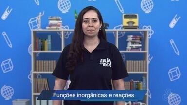 Professora de química fala sobre funções inorgânicas e suas reações - professora de química fala sobre funções inorgânicas e suas reações