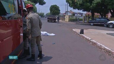 Em seis dias, cinco pessoas morreram no trânsito em Tangará da Serra - Em seis dias, cinco pessoas morreram no trânsito em Tangará da Serra.