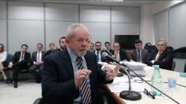 Lula chama Palocci de mentiroso, frio e calculista em depoimento a Moro - Foi o segundo depoimento do ex-presidente como réu ao juiz Sérgio Moro, desta vez na ação em que é acusado de receber propina da Odebrecht na compra de um terreno para o Instituto Lula e de um apartamento. Lula negou as acusações.