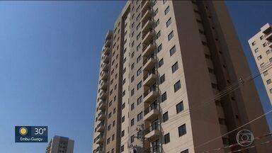 Responsável por construtura some e 183 famílias ficam sem apartamento - Os apartamentos eram para ser entregues no ano passado, mas o responsável pela Grimberg Chourick Incorporadora e Construtora sumiu.