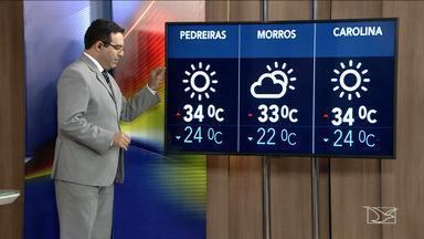 Confira as variações das temperaturas no Maranhão - Segundo a meteorologia, São Luís nesta quinta-feira (14) será com sol e terá mínima de 25 graus e máxima de 36.