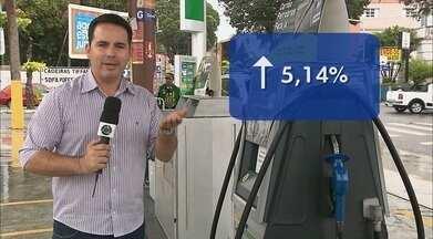 Aumentos frequentes no preço da gasolina confunde motoristas em João Pessoa - O preço da gasolina chegou a R$3,85 por litro.
