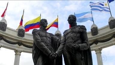 Sonho de todos os clubes, Libertadores da América é homenagem heróis sul-americanos - Bolivar, San Martin, Artigas, Dom Pedro I e José Bonifácio são os grandes homenageados.